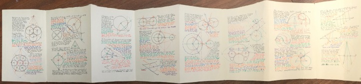 Some of the geometry book I'm working on...