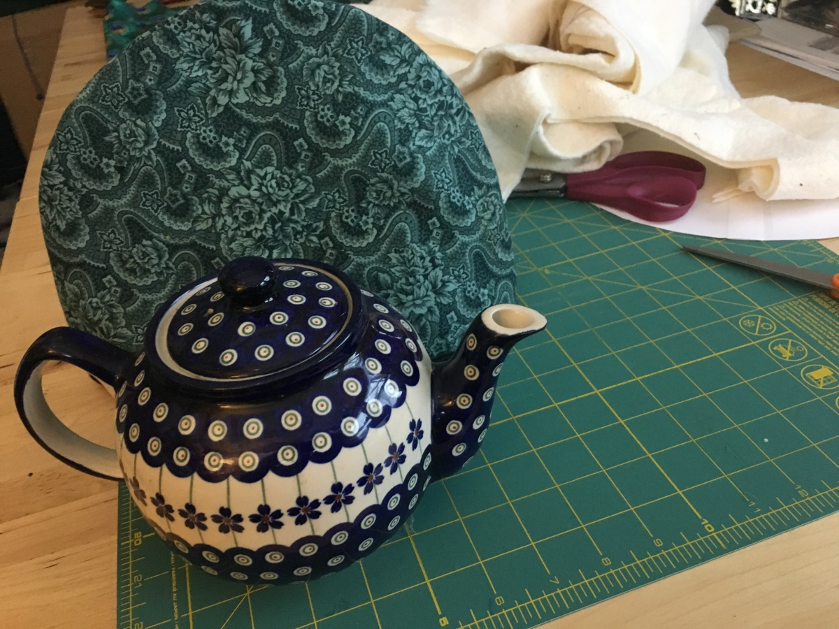 Sewing Tea Cozy Wanderings In The Labyrinth
