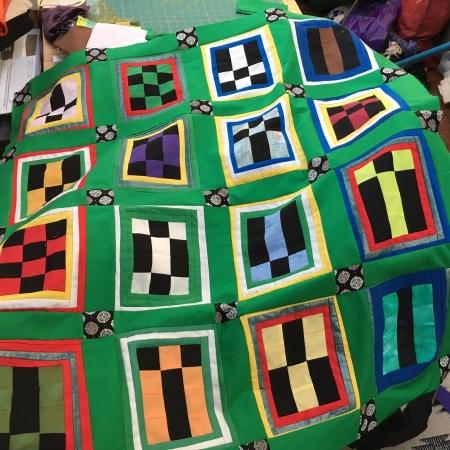 geomancy quilt assembled