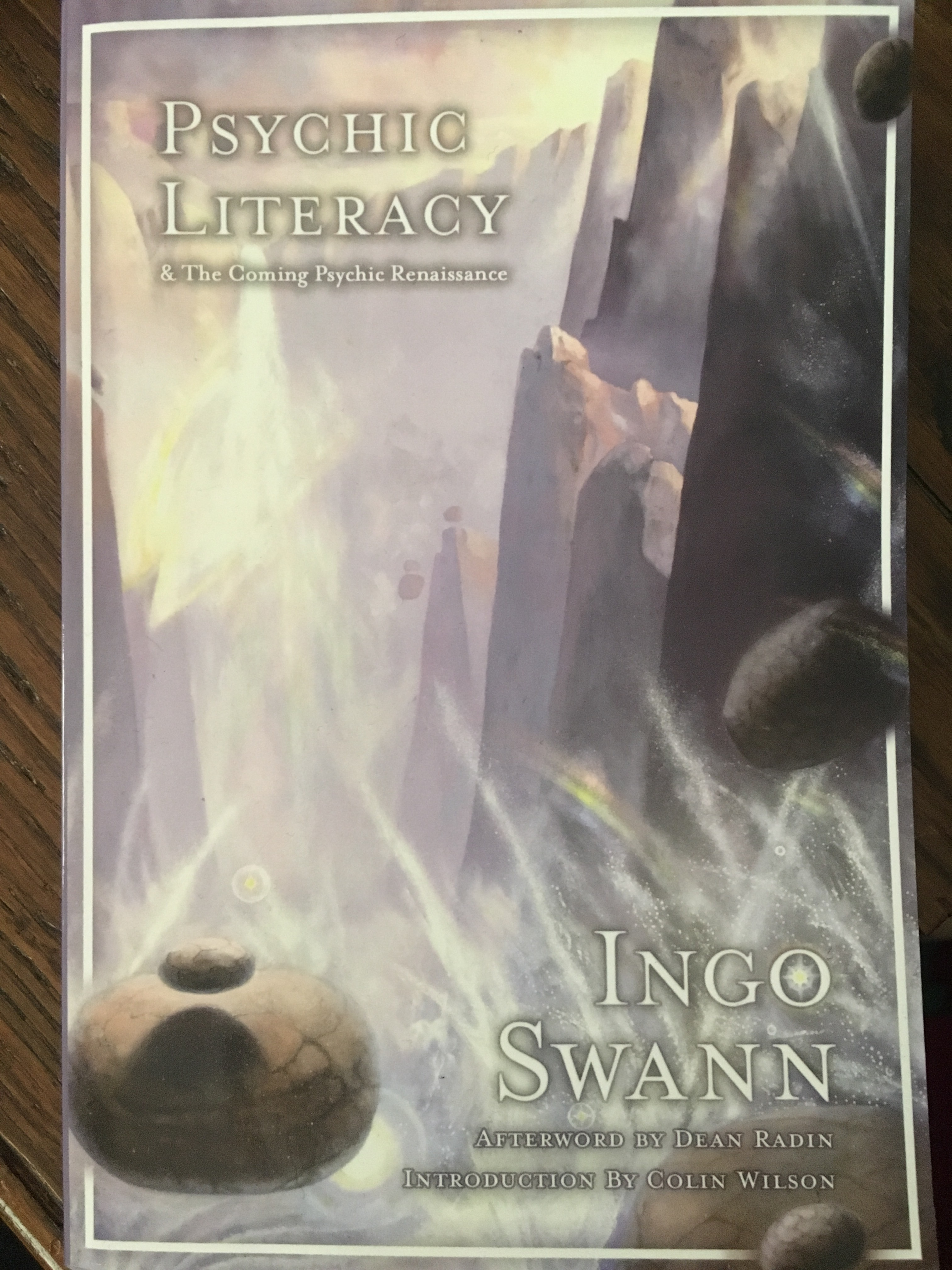 "Cover of book ""psychic literacy"" by Ingo Swann"